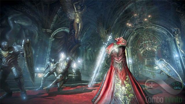 No DEMO experimentamos esta espada bacanuda e os punhos de fogo do Drácula!