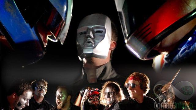 A banda The Protomen e toda sua pegada teatral.