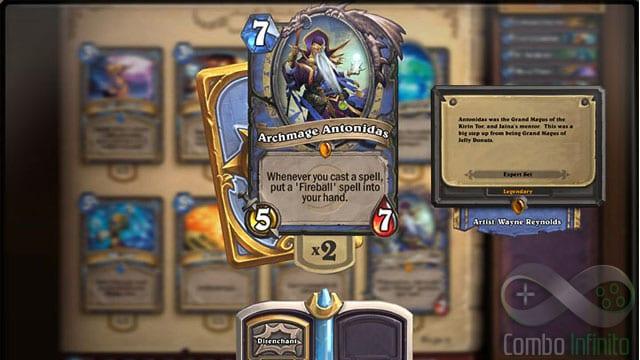 Heartstone é um game de cartas baseado no universo de Warcraft.
