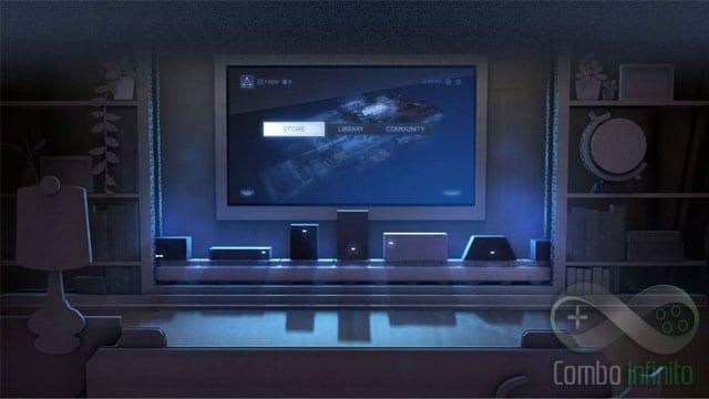 A Valve quer que você continue jogando no PC, porém na sua sala e na sua TV.