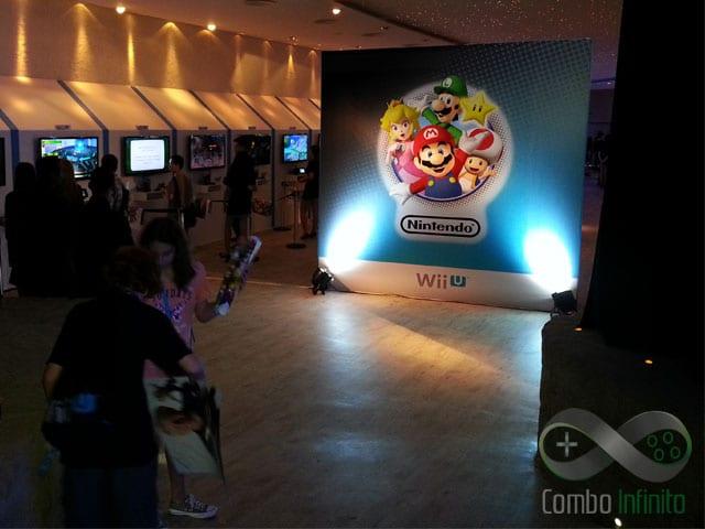 Mario na entrada do evento - Claro!