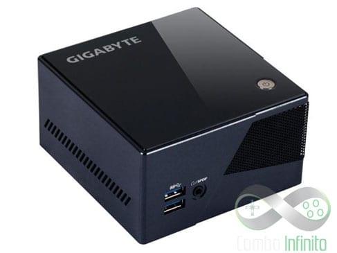 """Nesse modelo da Gigabyte caberia muito bem o nome """"Steam Box"""" (Ex-nome do dispositivo)"""