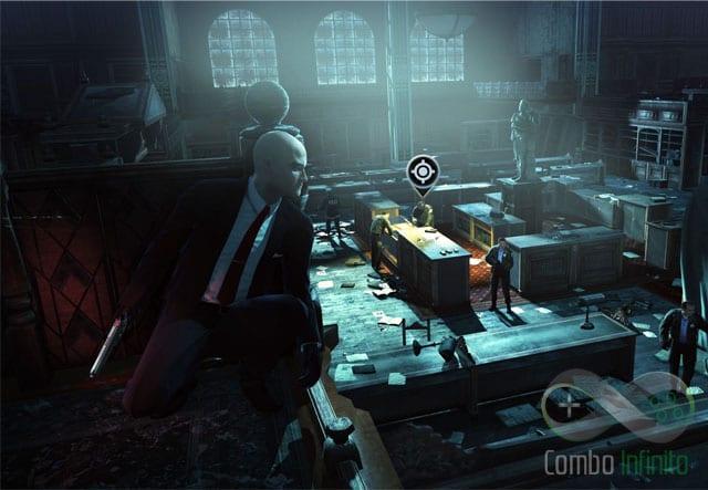Imagem do último jogo da série - Hitman Absolution. Qualidade gráfica absurda!