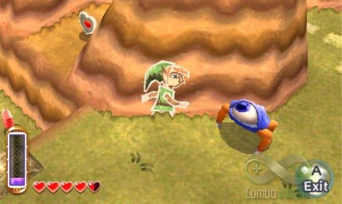 Link transformado em pintura. O grande novo elemento, nunca antes experimentado na franquia.