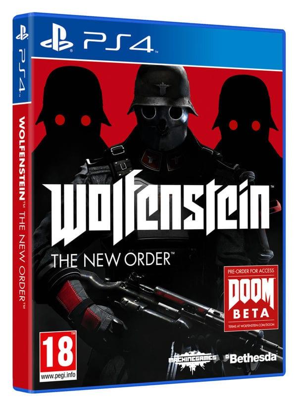 wolfstein ps4 cover