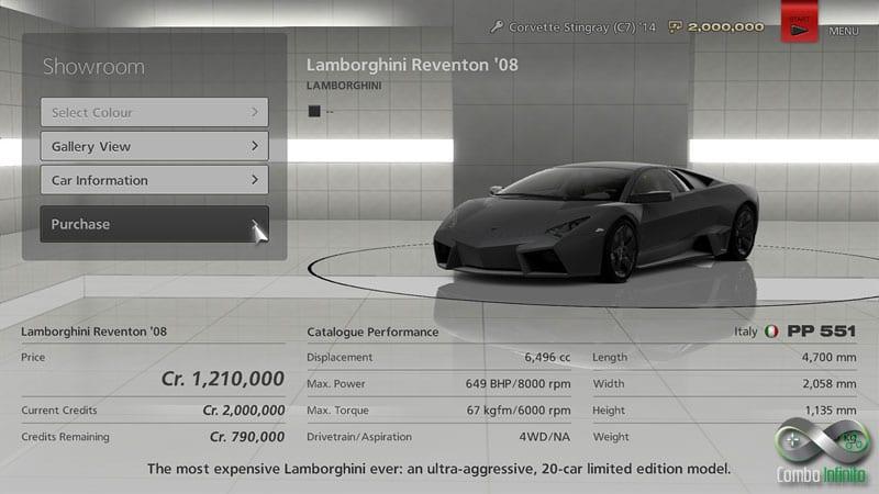 Esse Lamborghini parece bem caro.