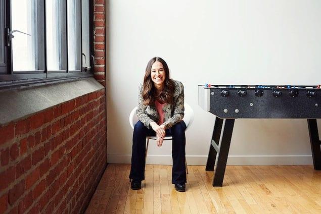 Jade Raymond em sua entrevista à The Grid. Foto por Jaime Hogge/The Grid
