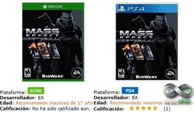 Massa Effect no Catálogo das lojas do Chile