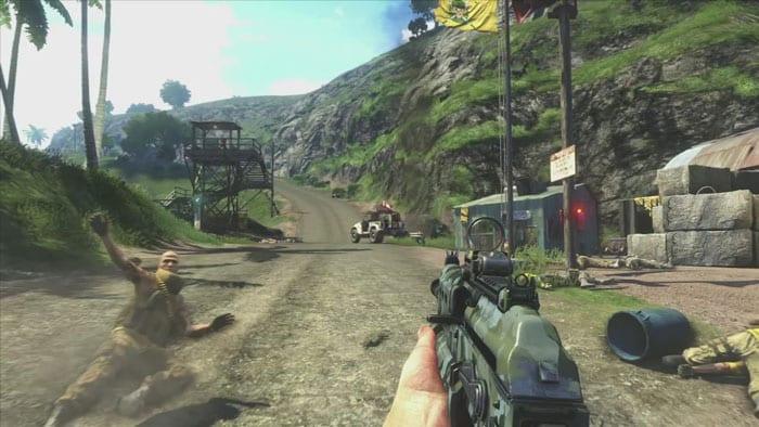 O mundo aberto de Far Cry 3 é um dos grandes chamativos do jogo.