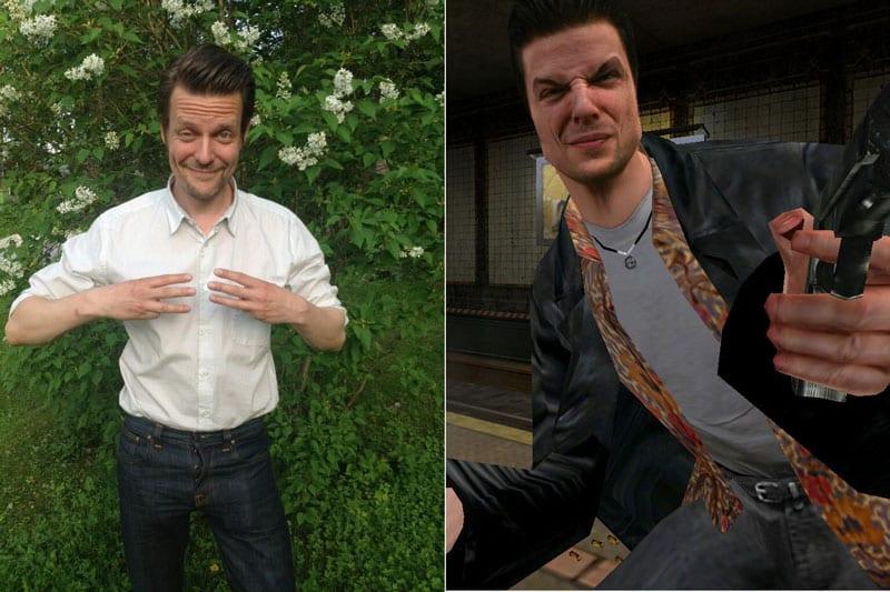 Sam Lake, o cara que fala no vídeo e Max Payne. Biítos!