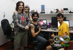 Time Taw Studio - Mateus, Gregório, Marcelo e Lucas.