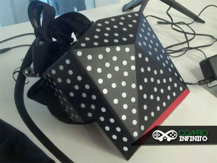 Então é assim que o Headset virtual da Valve é. Cheio de bolinhas? O.o