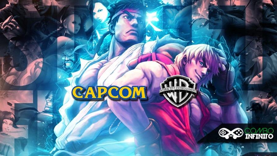 No Brasil, jogos da Capcom serão fabricados e distribuídos pela Warner Bros. Capcom-e-warner