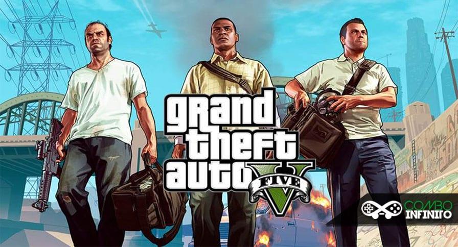 Anunciado oficialmente o Bundle do PS4 com GTA V - Combo Infinito