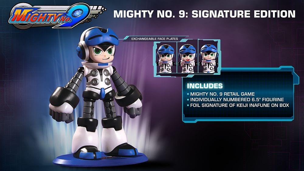 mighty no 9 boneco