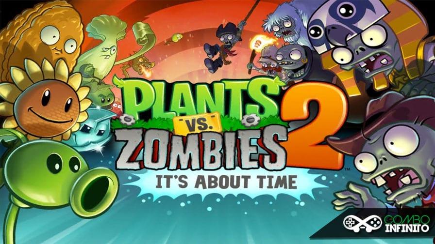 Plants Vs Zombies 2 lança atualização de conteúdo Retrô