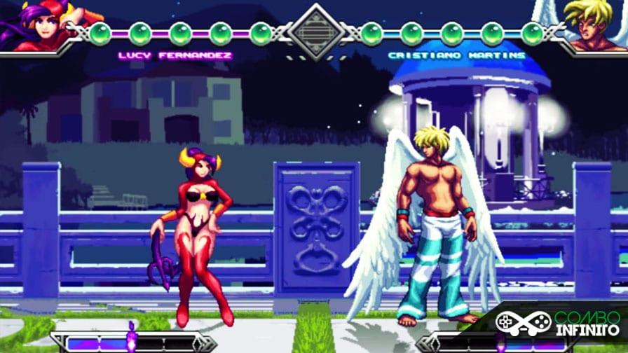 festa a fantasia vira porradaria em um game de luta 2d made in