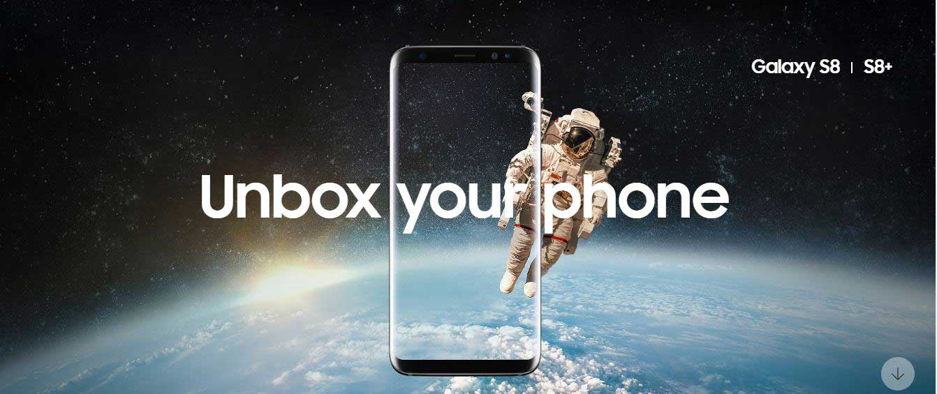 unbox your phone samsung anuncia o galaxy s8 e s8 plus combo