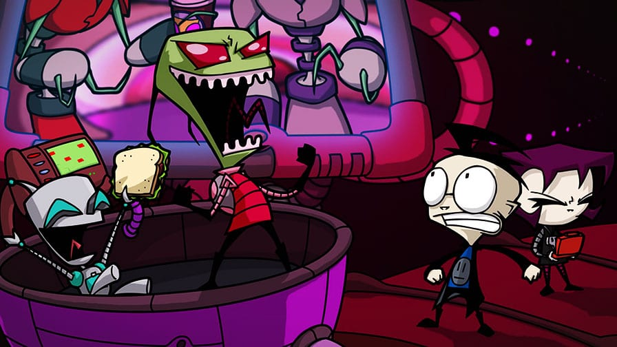 Nickelodeon prepara retorno do 'Invasor Zim' em novo filme animado!