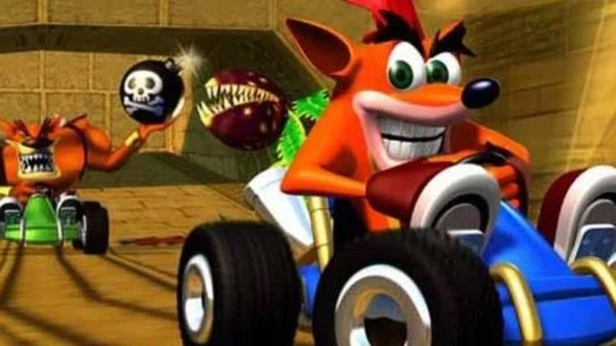 Remake do jogo de corrida de Crash pode existir — Crash Team Racing