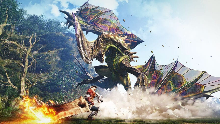 jogamos Monster Hunter World