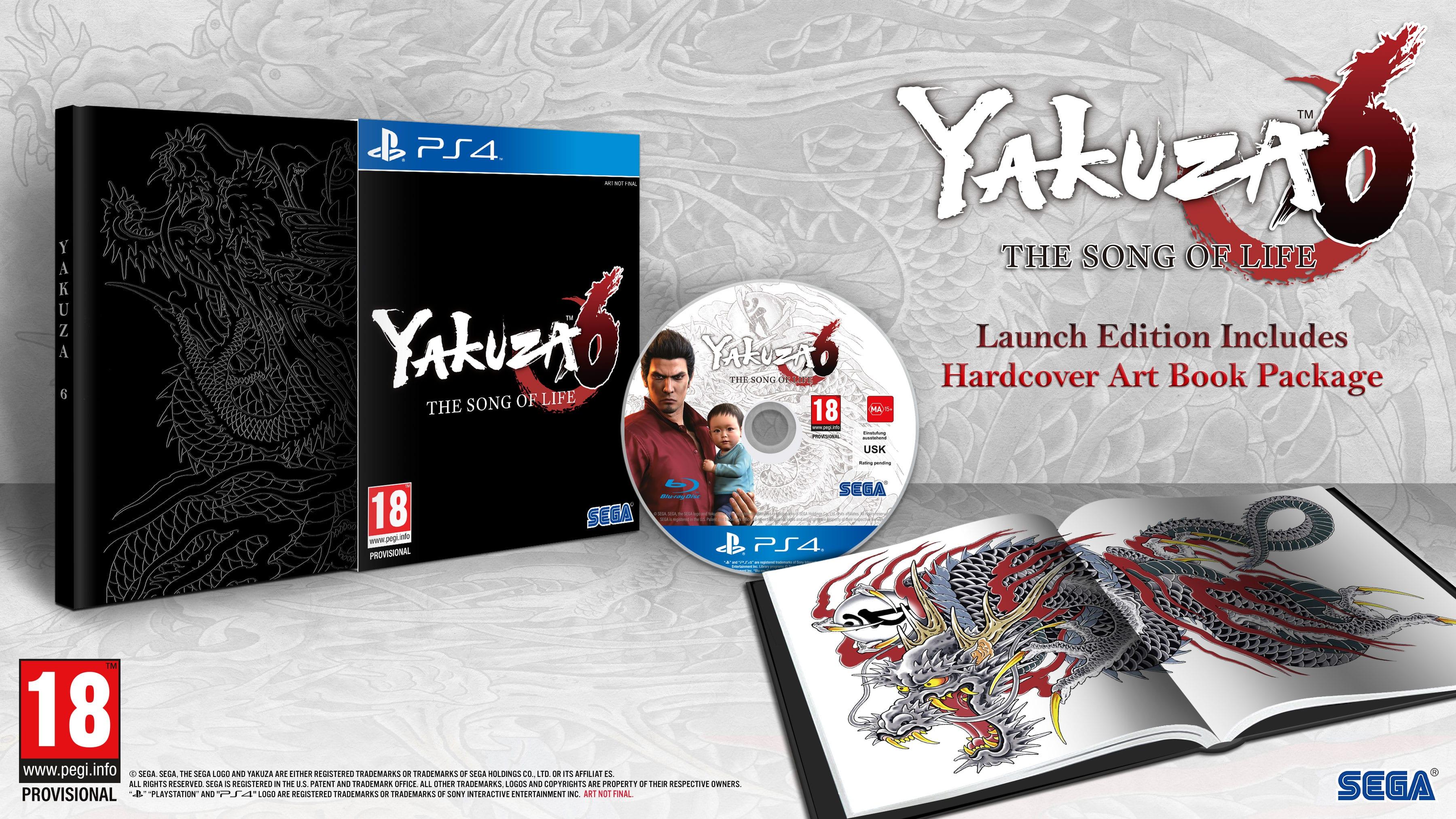 Yakuza 6 chega à Europa a 20 de Março do próximo ano
