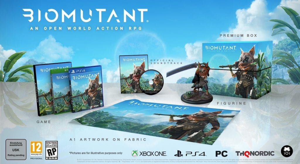 Games - BioMutant é anunciado oficialmente e ganha trailer