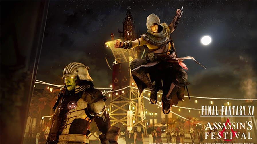 Final Fantasy 15 anuncia crossover com Assassin's Creed Origins