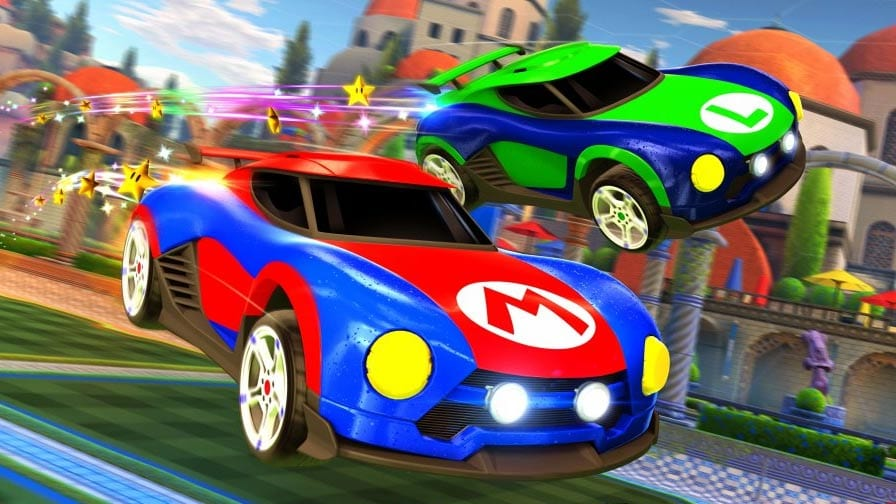 Rocket League: Versão para Nintendo Switch terá carro do Mario