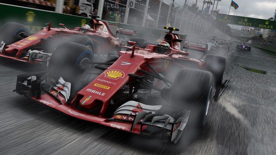 F1 2017 ganhará atualização