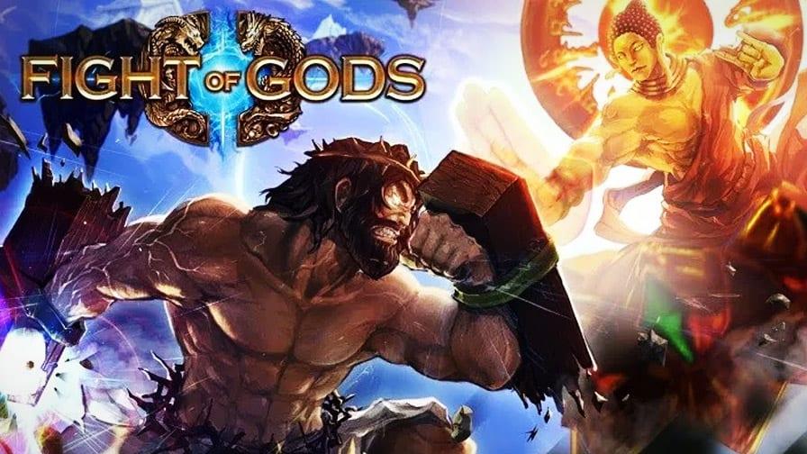 fight of gods jogo de luta traz buda zeus moisés e até jesus como