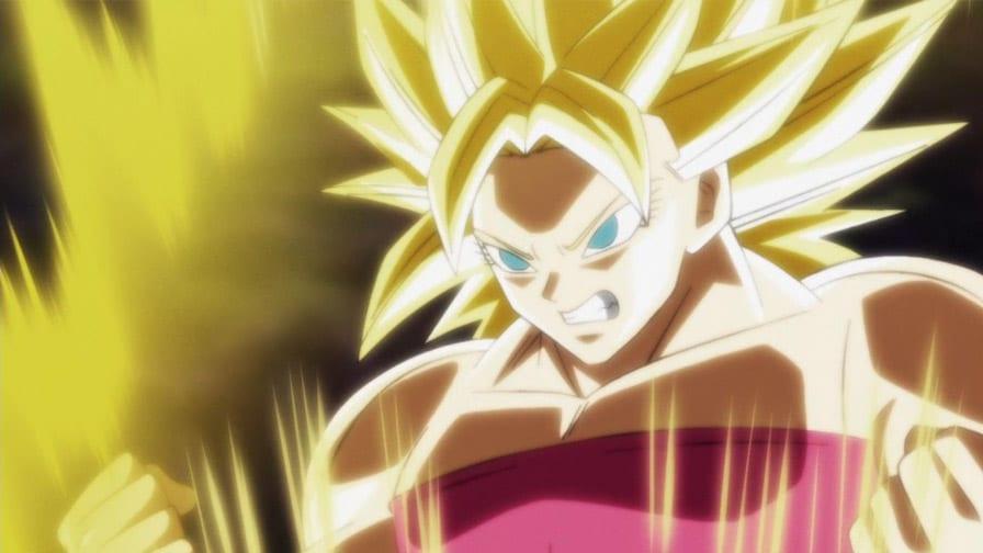 transformação em Dragon Ball Super