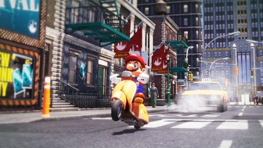 Super Mario Odyssey em português