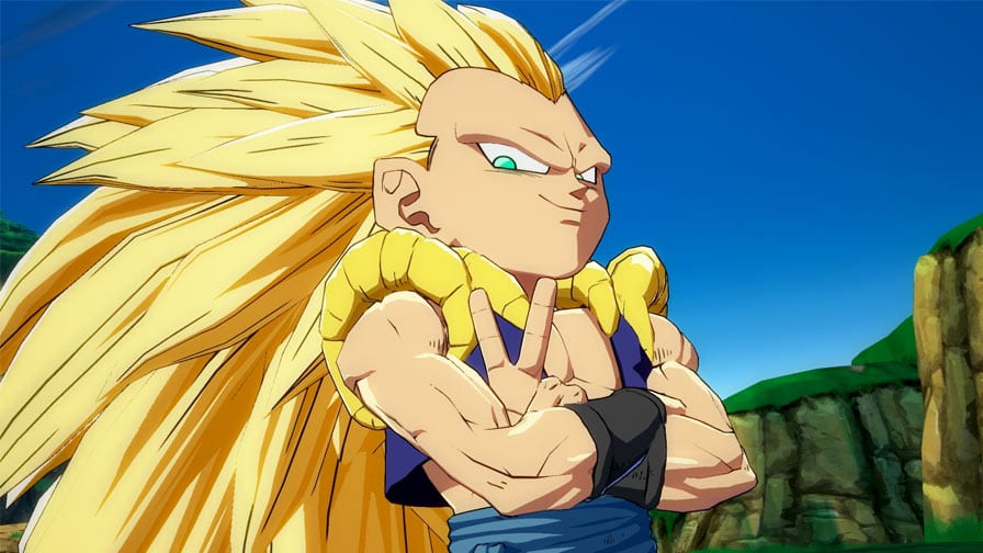 Aí está Gotenks — Dragon Ball FighterZ
