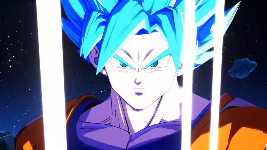 Goku Super Sayiajin Blue