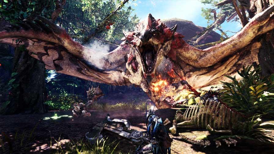 World já é o jogo mais vendido da franquia — Monster Hunter