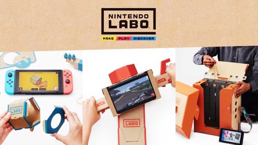 Conheça a nova experiência da Nintendo — Nintendo LABO