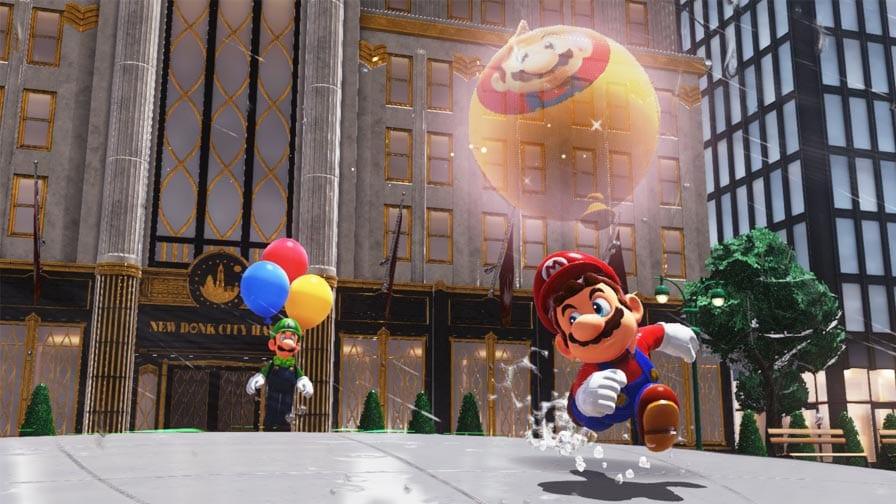 Anunciado Super Mario Odyssey: Luigi's Balloon World