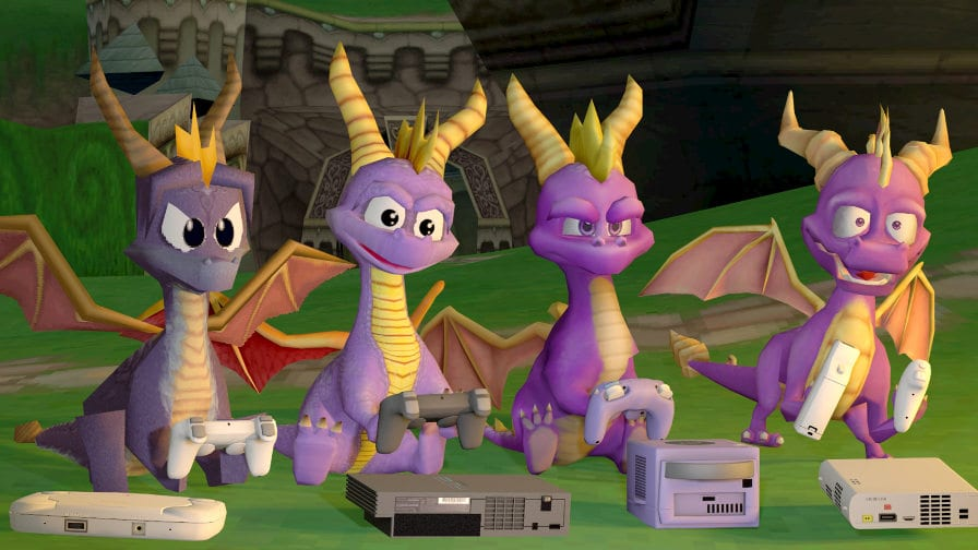 PS4 poderá ganhar remake do Spyro the Dragon