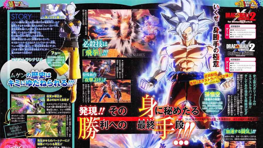 Dragon Ball Xenoverse 2 terá forma suprema e inédita de Goku