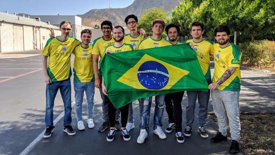 Seleção brasileira 2018 Overwatch Cup