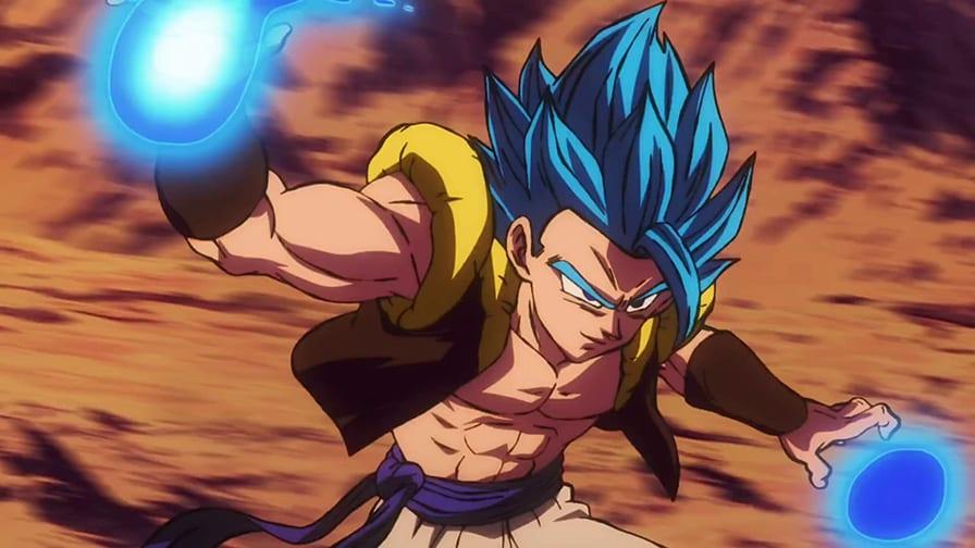 Gogeta Blue Enfrenta Broly Em Novo Video De Dragon Ball Super