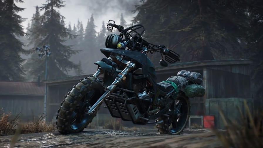 Days Gone e a motocicleta