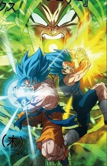 Dragon Ball Super: Broly mangá art