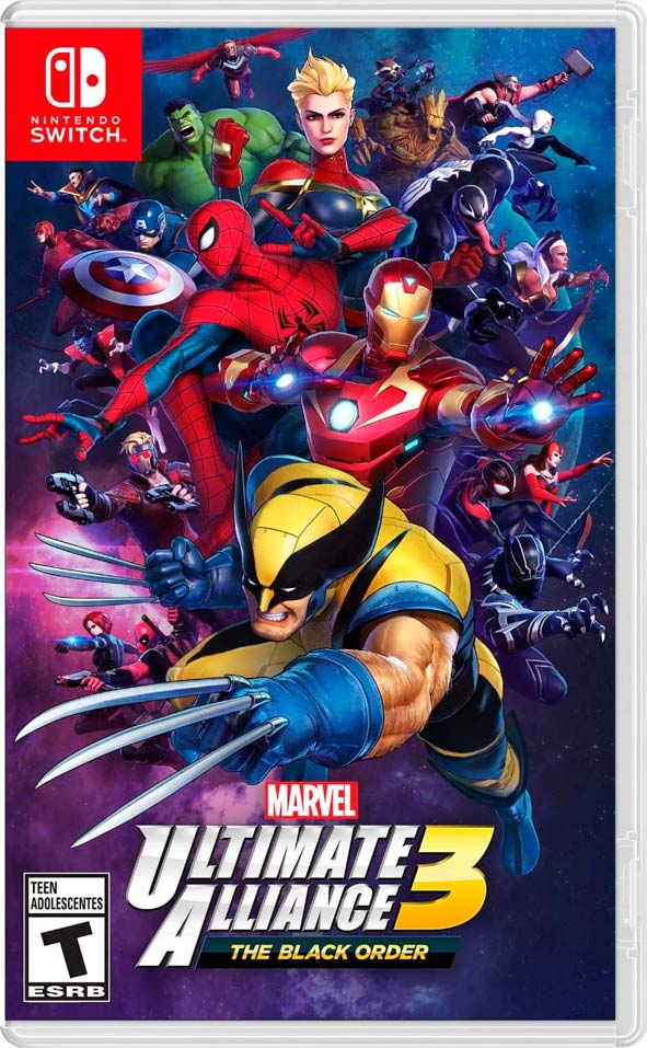 Marvel Ultimate Alliance 3 capa