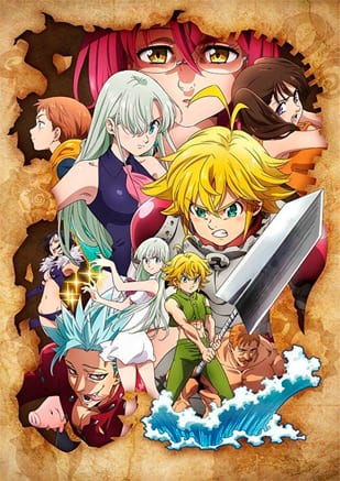 Os Sete Pecados Capitais novo anime anunciado