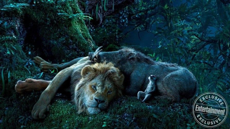 O Rei Leão timão e pumba