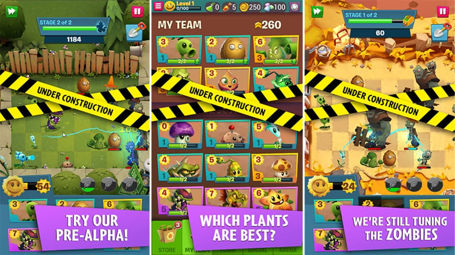 Plants vs Zombies 3 Versão Alpha
