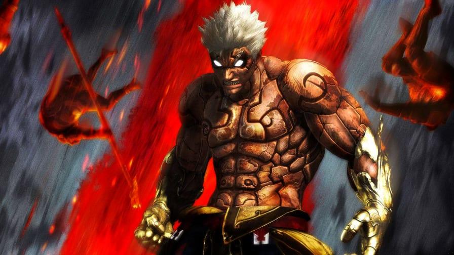 Street Fighter V: Asura, de Asura's Wrath, será transformado em um ...