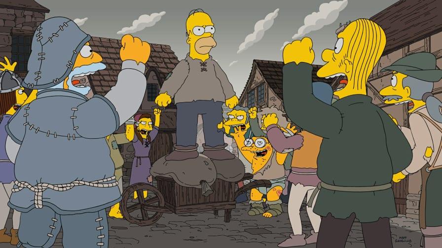 Os Simpsons Disney Fox